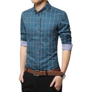 Het hoogstaande en Zachte Lange Overhemd van de Koker voor de Mens