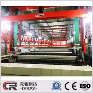 Zahnstangen-Zink-Nickel-Legierungs-Überzug-Pflanzenoberflächen-Beschichtung-Maschine