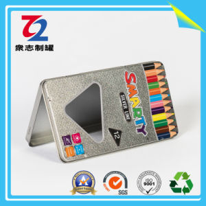 문구용품 상자 포장 금속 주석 필통 펜 콘테이너