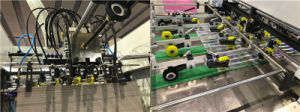 La serie Exelcut Cartón Ondulado automática Máquina de troquelado 1500/1650(SS)