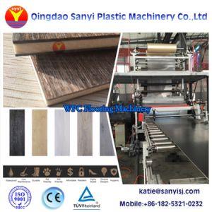 屋内放出ラインWPCの生産機械に床を張るプラスチックWPC