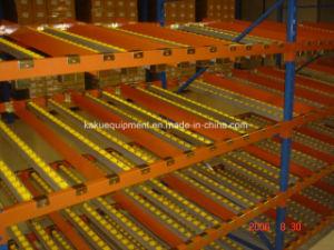 De Stroom van het Karton van de dia door Rek voor Dynamische Opslag