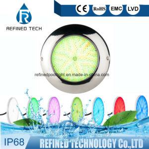 lampada subacquea dell'indicatore luminoso LED del raggruppamento di RGB riempita resina LED dell'acciaio inossidabile 316L completamente