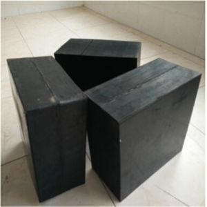 브리지를 위한 박판으로 만들어진 탄성 방위 패드