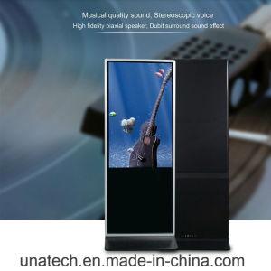 Schermo di visualizzazione Touchable infrarosso/capacitivo del totem del chiosco del PC di WiFi Anriod/Windows dell'affissione a cristalli liquidi per uso dell'interno