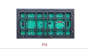 P10 étanche à l'extérieur de la publicité pleine couleur Module LED DIP