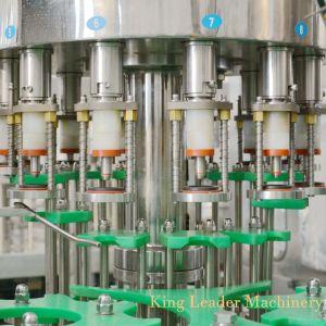 Стеклянную бутылку сока производственной линии