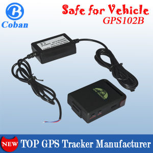 Mini-der G-/MGPRS GPS Unterstützungs-TF-Karte Software-Plattform-Tk102b u. Erschütterungs-Warnung, des Telefon-SIM Verfolger Karte G-/MGPS GPRS