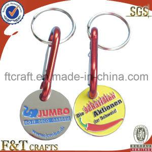 Carrinho de metal personalizados de alta qualidade Coin/Supermaket Coin/ (FTCN1001A)