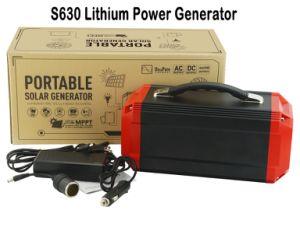 휴대용 태양 에너지 공급 리튬 건전지 태양 발전기 변환장치 발전기
