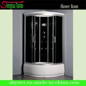 Hot nuevo diseño de cabinas de ducha de vapor negro