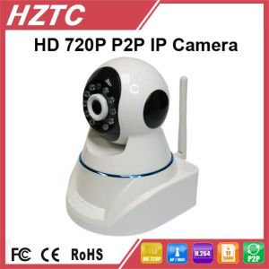 Hztc Tc-Ipc811-Ar 2wegAudio 10m IR Distance H. 264IP Camera Live View Axis 213 PTZ Network Camera