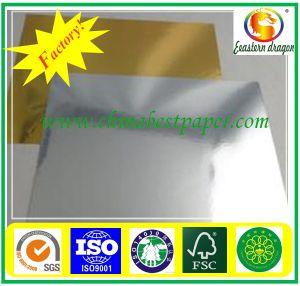 1 côté blanc 1 carte latérale grise/paper board