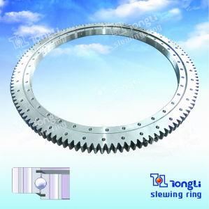 Série de Luz Padrão Europeu /Single-Row Ball/Engrenagem Externa do anel giratório de Esferas/Pião