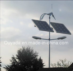 Sistema híbrido Solar do vento