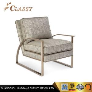 Kundenspezifische Vertrags Wohnzimmer Möbel Moderner Stuhl Gewebe Akzent  Lehnsessel