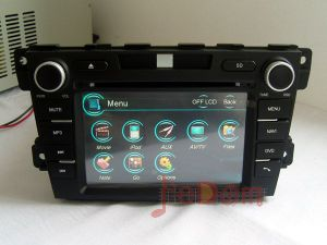 Mazda CX-7를 위한 GPS+Bluetooth+iPod를 가진 차 DVD Player