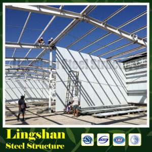 Дешевое здание пакгауза стальной структуры Peb Prefab (LS-S-091)