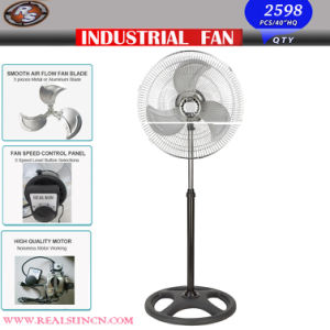 White Baseの18inch Electrical Industrial Fan