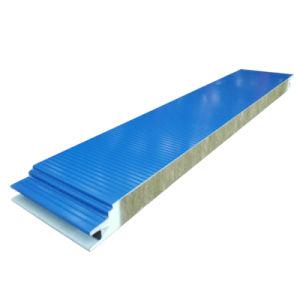 Огнеупорные полиуретановой пены плата строительных материалов Rockwool Сэндвич панели