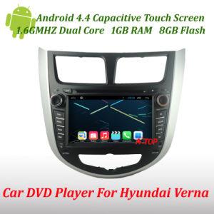 Hyundai Verna Accent Solaris를 위한 Android 4.4를 가진 차 DVD Player