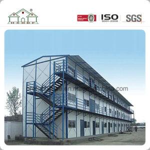 オフィスとして工場によってカスタマイズされる健康な装飾のモジュラープレハブの建物か研修会またはキャンプまたは生きている家