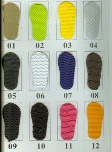 Folhas de EVA com padrões para as sandálias Flipflop