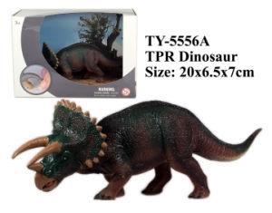 Funny nuevo TPR dinosaurio de juguete de animales