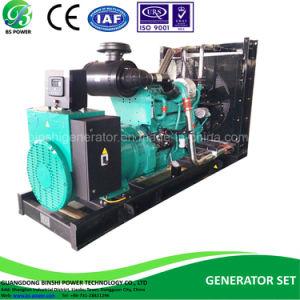 80KW/100kVA Conjunto de generación diesel impulsados por motores Cummins 4BTA3.9-G11 y Leroy-Semor alternador de 60Hz y 208V (BCL100-60)