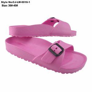 EVA Femmes d'injection de l'été Slipper Mesdames Diapositive pantoufle colorée