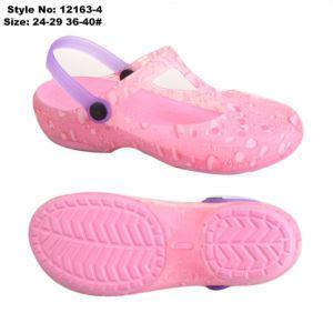 Желе высокого каблука засорению сандалии, парикмахерский салон ПВХ верхний желе обувь