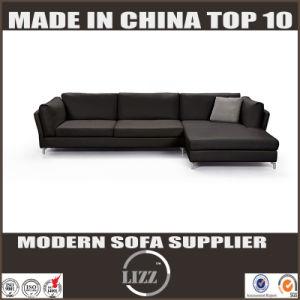 韓国の簡単で、優雅な様式の革現代ソファー