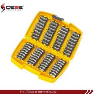 64-Bit de destornilladores Magentic piezas con caja resistente