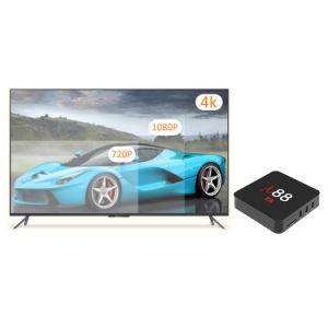 Heiße VerkaufI88 Android 7.1.2 intelligentes Vierradantriebwagen-Kern 2GB RAM/16GB des Fernsehapparat-Kasten-S905X ROM mit 4K 1080P HD, WiFi Media Player
