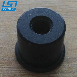 Fixation personnalisées noir en aluminium à six pans creux rond les écrous à extrémités fermées