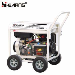 tipo di blocco per grafici aperto 7kVA prezzo del generatore di potenza di motore diesel (DG7000E3)