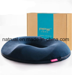 Coxim de assento das nádegas das avaliações da massagem, cadeira ortopédica do escritório da espuma da memória e coxim de assento do carro