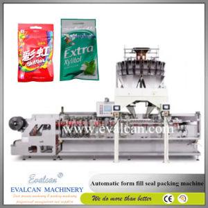 Bolsita de polvo de café automática de llenado de la formación de la máquina de embalaje sellado