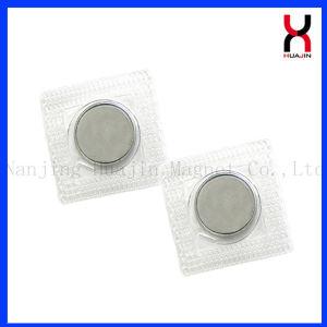 Imán de neodimio de 18 mm resistente al agua el botón de prendas de vestir