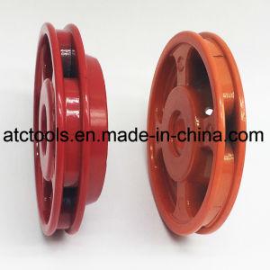 Heavy Duty tête rouge fraise en aluminium avec 4 lignes de Nyon pour tondeuse à gazon de la faucheuse de brosse