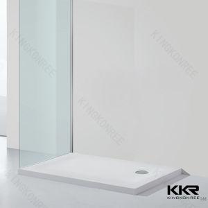浴室のホテルのプロジェクトのための人工的な石造りのシャワーの皿