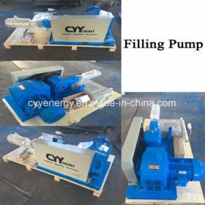 La bomba de llenado del cilindro de líquidos criogénicos / Bomba de pistón de alta presión