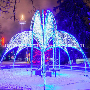 Schönes LED-Motiv beleuchtet LED-Tier-Lichter Diwali Beleuchtung für Park-Dekoration