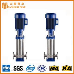 Pompe centrifuge à plusieurs étages verticale/pompe de jockey/pompe de gavage d'incendie