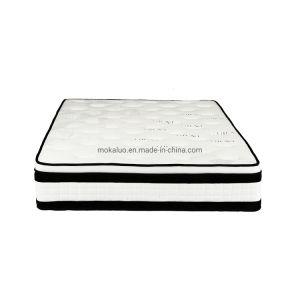 Los fabricantes de China King-Size Latex-Memory europeo-Foam-Bed colchón con 5-Spring-Mattresses Pocket-Coil zona