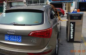 Alquiler de purificador de aire generador de ozono con el anión para el coche 4 Shop