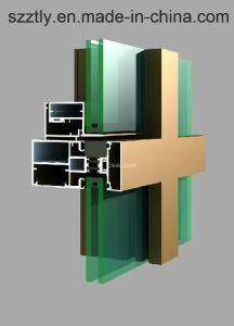 Al-6063aluminium/Aluminum Uitgedreven Facultatief Gekleurd het Anodiseren Profiel