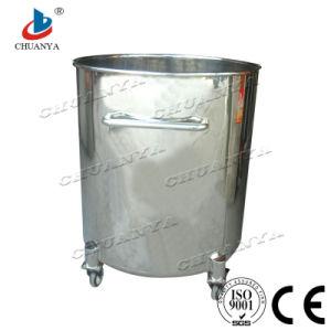 Acier inoxydable poli personnalisé industrielle de l'eau du réservoir de liquide
