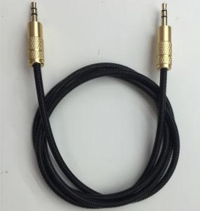 Высокая производительность автомобильная аудиосистема стерео аудиокабель 3,5 мм кабель Aux