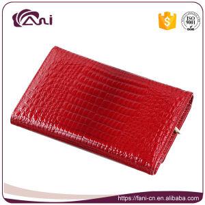 Fani Fabrication Court Style de pliage en Crocodile Lady Wallet